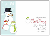 Product Image For Funky Snowmen Digital Design